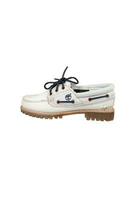 Timberland Damen Bootschuhe Schnürschuhe CA1GB8 Damen Heritage Noreen 3-Eye White Mystic weiss – Bild 3