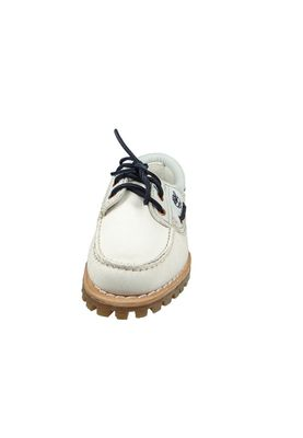 Timberland Damen Bootschuhe Schnürschuhe CA1GB8 Damen Heritage Noreen 3-Eye White Mystic weiss – Bild 6