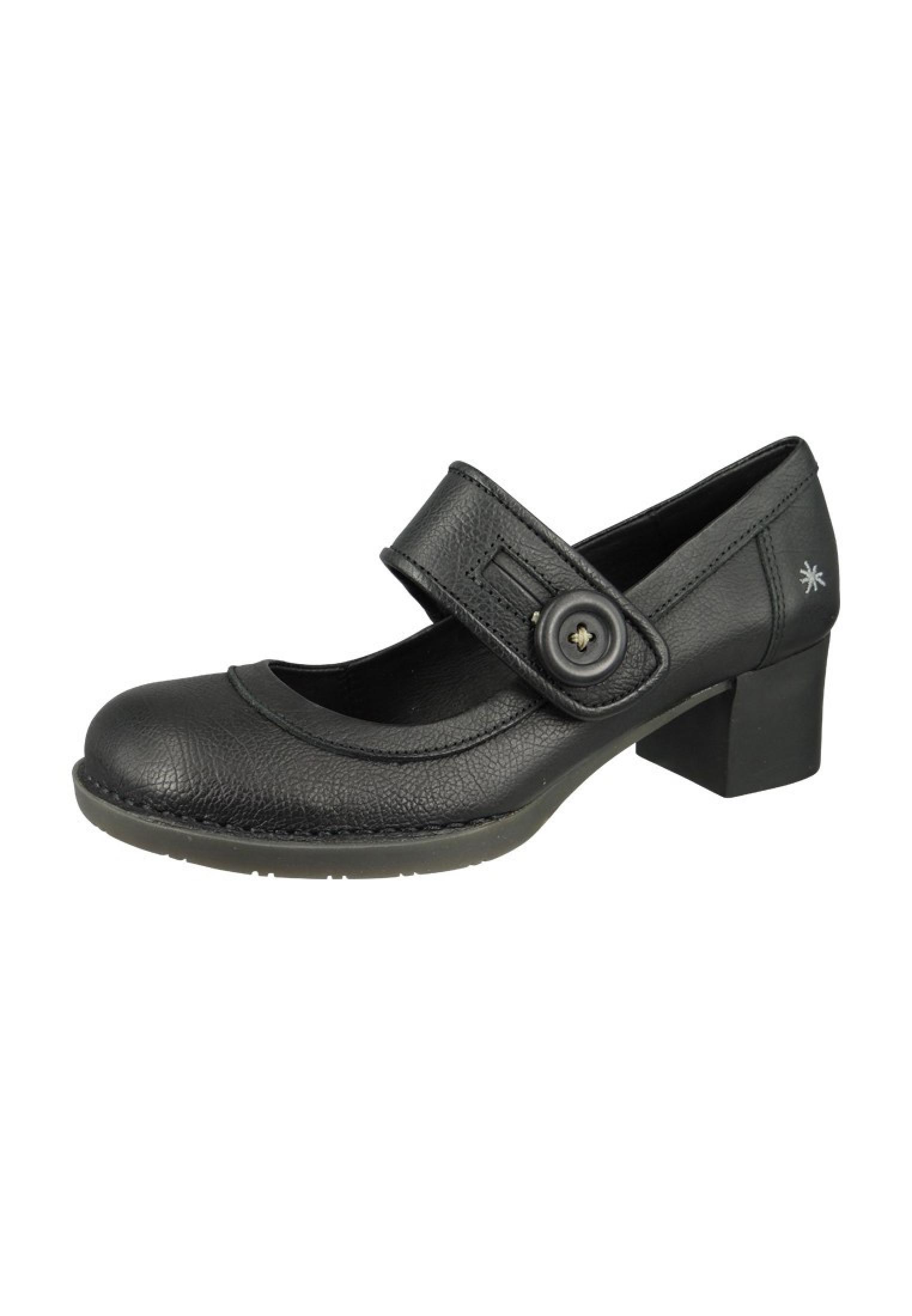 art schuhe leder pumps platform heels memphis bristol schwarz black 0089 damenschuhe pumps. Black Bedroom Furniture Sets. Home Design Ideas
