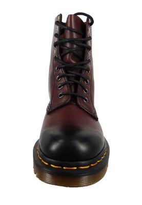 Dr. Martens 1460 21154600 Damen Pascal Antique Temperley Cherry Red Rot Weinrot 8-Loch – Bild 4