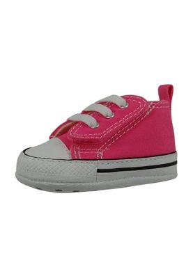 Converse Baby Chucks First Star Easy Slip 857429C Pink mit Klettverschluss – Bild 1