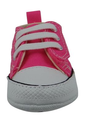 Converse Baby Chucks First Star Easy Panties 857429C Pink with velcro closure – Bild 5