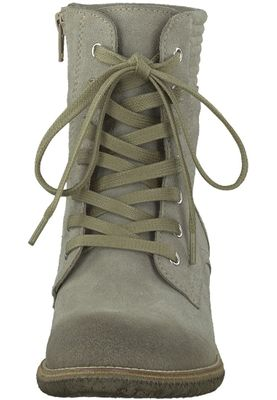 Tamaris Leather Boots Gray Boots 1-25287-29 331 Taupe Silver – Bild 6