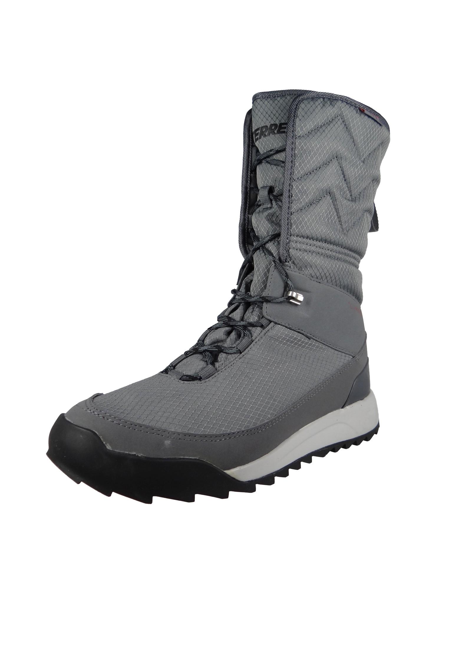 adidas Damen Winterstiefel Boots CHOLEAH HIGH CP S80743 Grau grey four f17grey five 17core black