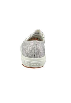 Superga Schuhe Sneaker 2750 MICROGLITTERCOTMETCOCCOW Silber Silver – Bild 4