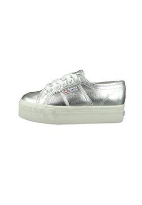 Superga Schuhe Sneaker 2790 COTMETW Plateau S006JC0-031 Silver Silber – Bild 3