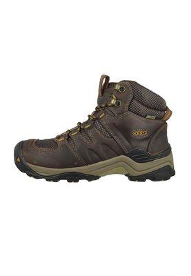 KEEN Herren Hikingschuh Trekkingschuh Gypsum II Mid WP Braun Coffee Bean Bronze Mist – Bild 2