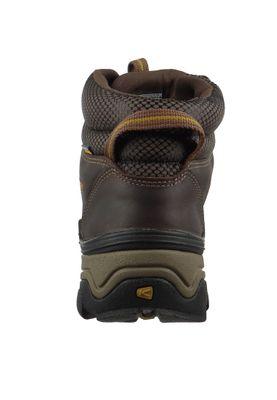 KEEN Herren Hikingschuh Trekkingschuh Gypsum II Mid WP Braun Coffee Bean Bronze Mist – Bild 5