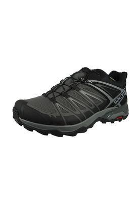 Salomon Schuhe X Ultra 3 GTX Laufschuhe Trail Hiking 398672 Schwarz Black Magnet Quiet Shade – Bild 1