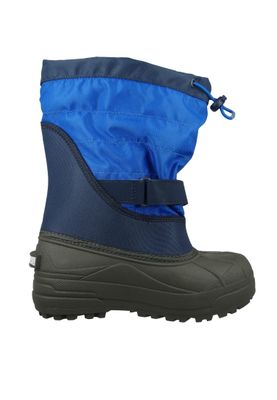 Columbia Kinder Winterstiefel Youth Powderbug Plus II Gefüttert Stiefel BY1326-464 Blau Collegiate Navy – Bild 4