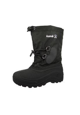 Kamik Kids Winter Boots Southpole 4 Lined Boots NK8727 Black Black – Bild 1