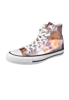 Converse Chucks 157619C Bronze CHUCK TAYLOR ALL STAR HI Dusk Pink White Black – Bild 1