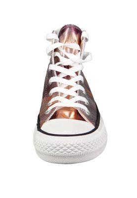 Converse Chucks 157619C Bronze CHUCK TAYLOR ALL STAR HI Dusk Pink White Black – Bild 4