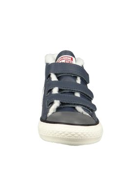 Converse Chucks Kinder 658154C Star Player EV 3V Mid HI Blau SHARKSKIN/EGRET/TERRA RED – Bild 4