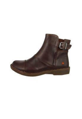 Art Leather Ankle Boots Ankle Boot Bergen Brown Brown 0917 – Bild 2