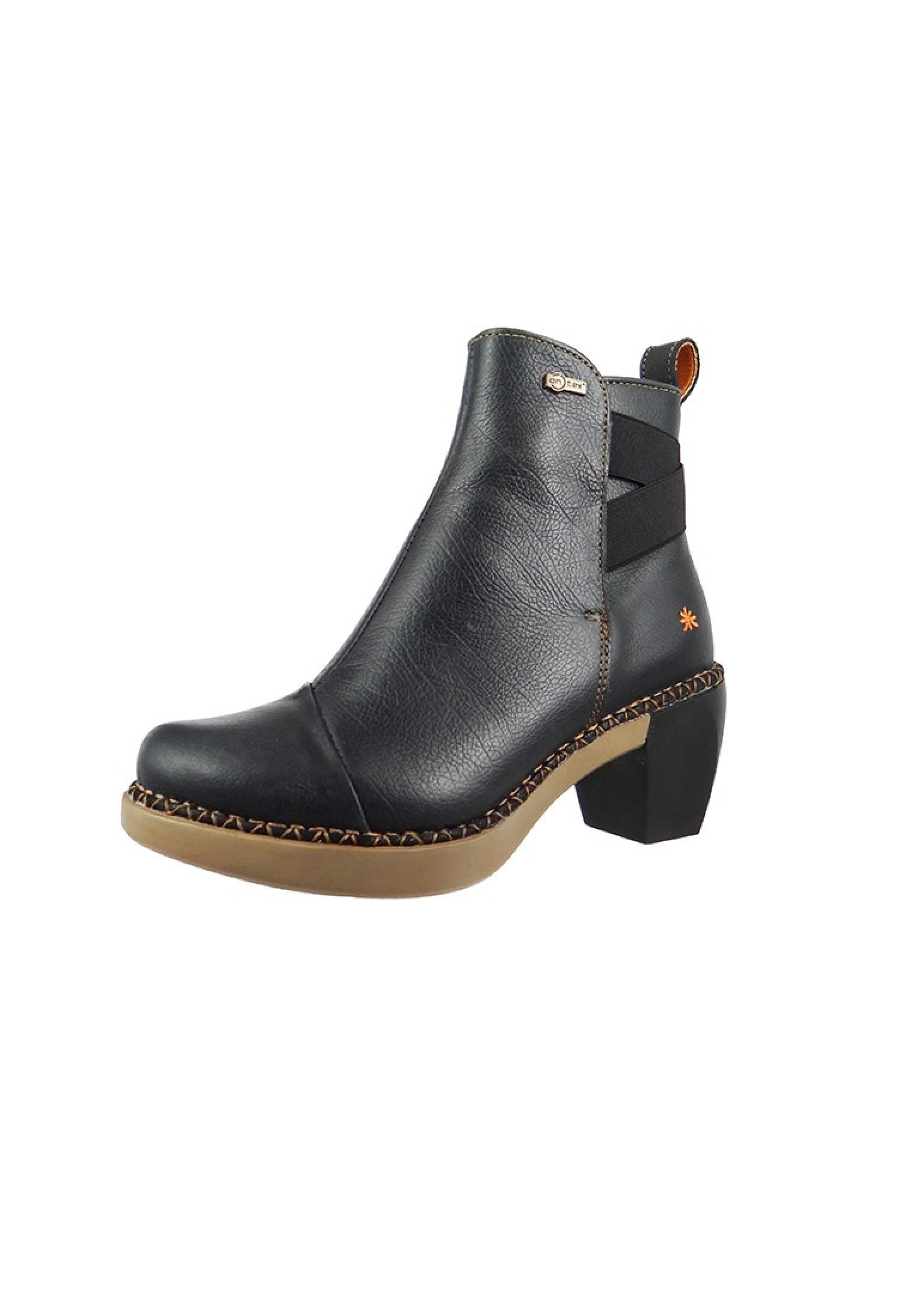 Art Leder Stiefelette Ankle bota bota Ankle Madrid Negro Schwarz 1152 Gr.  36 - 41 c805c7 1ece6bda24