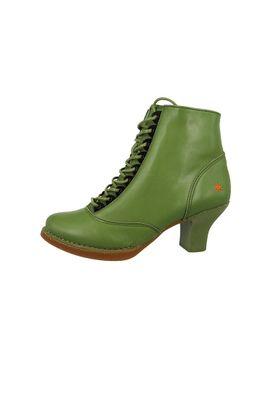 Art Leather Lace-up Ankle Boots Harlem Kaki Green 0927 – Bild 2