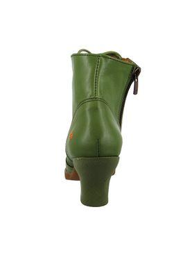 Art Leather Lace-up Ankle Boots Harlem Kaki Green 0927 – Bild 5