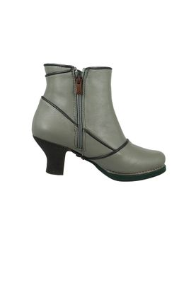 Art Leather Ankle Boots Ankle Boot Harlem Gray Humo 0945 – Bild 4