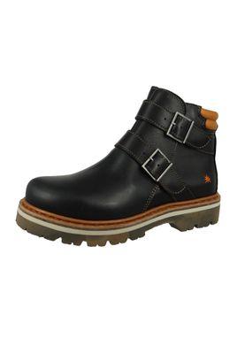 Art Leder Stiefelette Ankle Boot Soma 1183 Black Schwarz – Bild 1