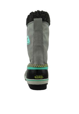 Sorel Kinder Winterstiefel YOOT PAC Nylon Gefüttert Youth NY1879-052 Quarry Grau – Bild 5