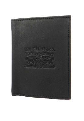 Levis Geldbörse Vintage Two Horse Vertical Coin Wallet Geldbeutel Regular Black Schwarz 222543-4-59 – Bild 1