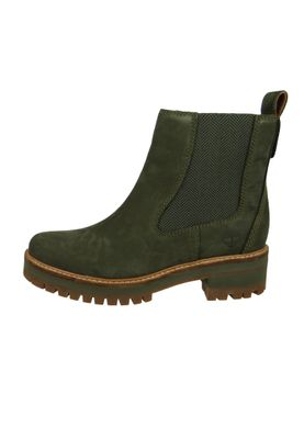 Timberland Womens Ankle Boot Courmayeur Valley Chelsea Boot Leather Olive Nubuck A1J5U – Bild 3