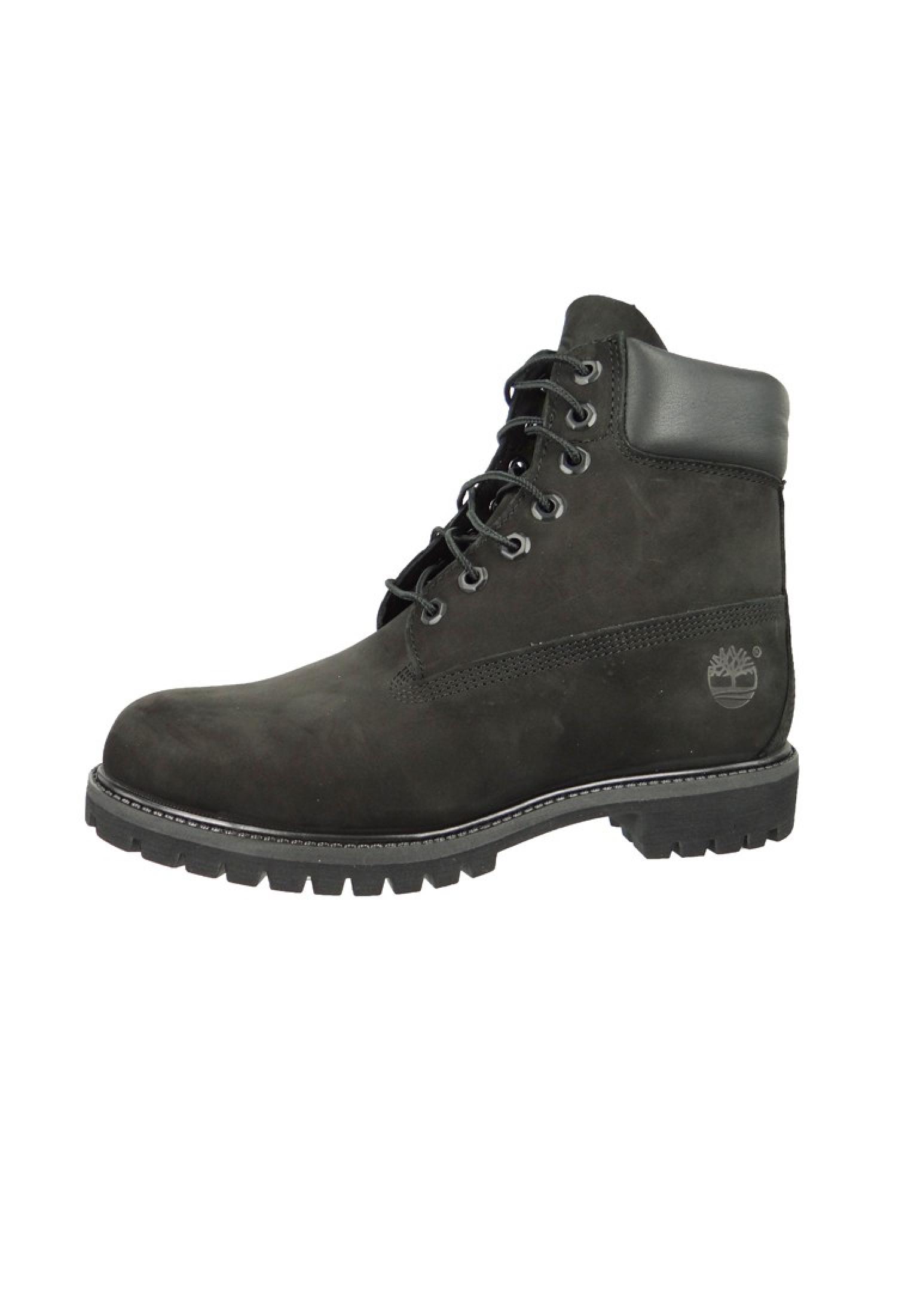 timberland herren stiefel 6 inch premium boot leder black nubuck schwarz 10073 herrenschuhe. Black Bedroom Furniture Sets. Home Design Ideas