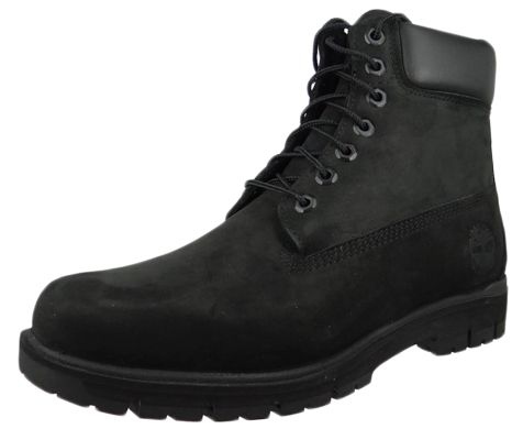 Timberland Men's Boots Radford 6Inch Boot WP Leather Black Nubuck Black A1JI2 – Bild 1