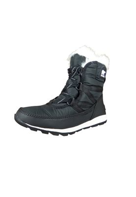 Sorel Damen Winterstiefel NL2776-010 WHITNEY SHORT LACE Schwarz Black – Bild 1