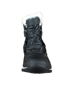 Sorel Damen Winterstiefel NL2776-010 WHITNEY SHORT LACE Schwarz Black – Bild 6