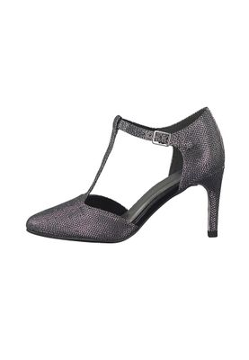 Tamaris Riemchen Pumps High-Heel Stiletto mit TOUCH-IT Sohle Schwarz 1-24438-39 043 Black Glam – Bild 6