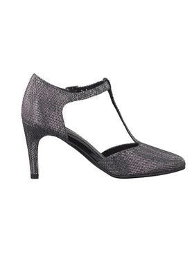 Tamaris Riemchen Pumps High-Heel Stiletto mit TOUCH-IT Sohle Schwarz 1-24438-39 043 Black Glam – Bild 5