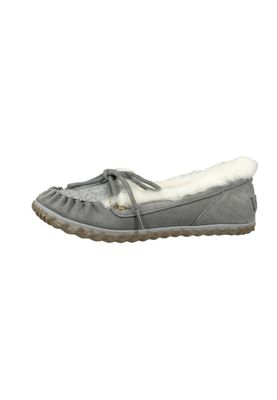 Sorel Damen Leder Slipper NL2431-052 OUT 'N ABOUT Quarry Grau – Bild 6