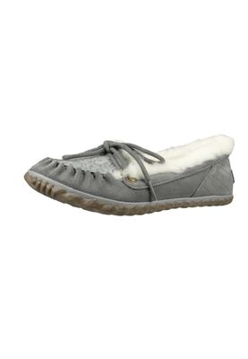 Sorel Damen Leder Slipper NL2431-052 OUT 'N ABOUT Quarry Grau – Bild 1