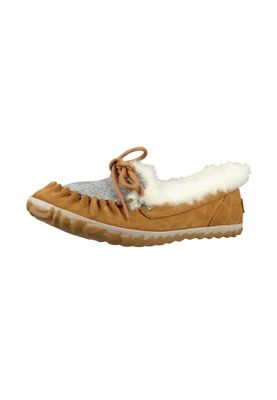 Sorel Damen Leder Slipper NL2431-286 OUT 'N ABOUT Elk Braun – Bild 1