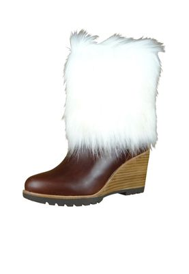 Sorel Damen Winter Stiefelette Boot NL2472-286 PARK CITY SHORT Elk Braun – Bild 1