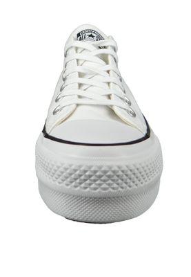 Converse Chucks White 560251C Chuck Taylor All Star LIFT OX White Garnet Navy – Bild 5