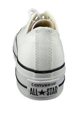 Converse Chucks White 560251C Chuck Taylor All Star LIFT OX White Garnet Navy – Bild 7