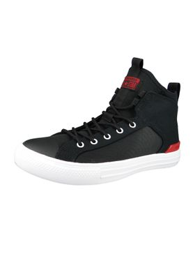 Converse Chucks 159630C Schwarz CHUCK TAYLOR ALL STAR ULTRA MID Black Gym Red – Bild 1