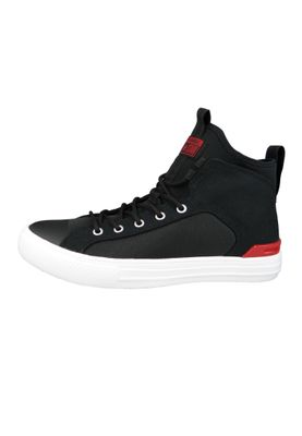 Converse Chucks 159630C Schwarz CHUCK TAYLOR ALL STAR ULTRA MID Black Gym Red – Bild 4