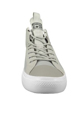 Converse Chucks 159632C Beige CHUCK TAYLOR ALL STAR ULTRA MID Pale Grey Black White – Bild 2