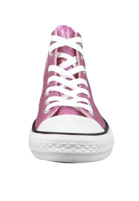 Converse Chucks Kinder 660043C Pink Chuck Taylor All Star HI Bright Violet Natural White – Bild 4