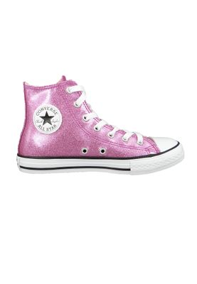 Converse Chucks Kinder 660043C Pink Chuck Taylor All Star HI Bright Violet Natural White – Bild 5