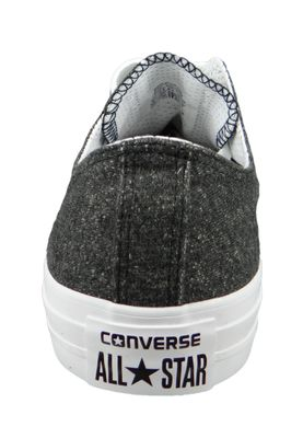 Converse Chucks 159638C Grau CHUCK TAYLOR ALL STAR OX Black White White – Bild 3