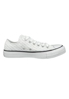 Converse Chucks 159683C Grau CHUCK TAYLOR ALL STAR OX White Glacier Black – Bild 4