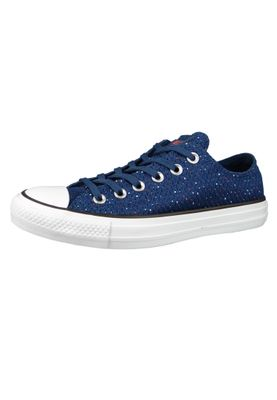 Converse Chucks 159684C Blau CHUCK TAYLOR ALL STAR OX Navy Bright Poppy White – Bild 1