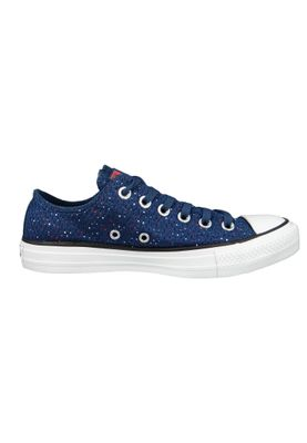 Converse Chucks 159684C Blau CHUCK TAYLOR ALL STAR OX Navy Bright Poppy White – Bild 5