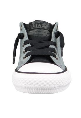 Converse Chucks Kinder 660041C Chuck Taylor All Star Street MID Cool Grey Black White – Bild 5