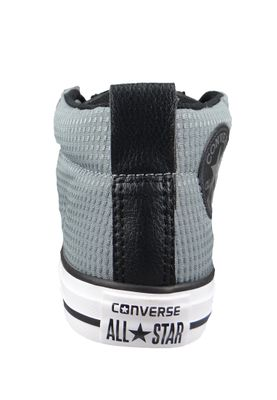 Converse Chucks Kinder 660041C Chuck Taylor All Star Street MID Cool Grey Black White – Bild 3